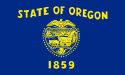 image of Oregon State Flag